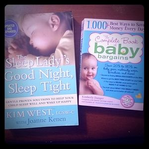 Good Night, Sleep Tight+Baby Bargains Book Bundle